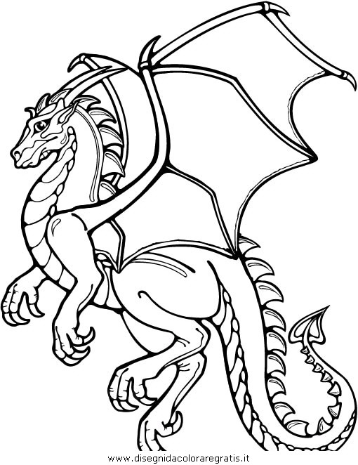 Free Coloring Pages Of N Drago