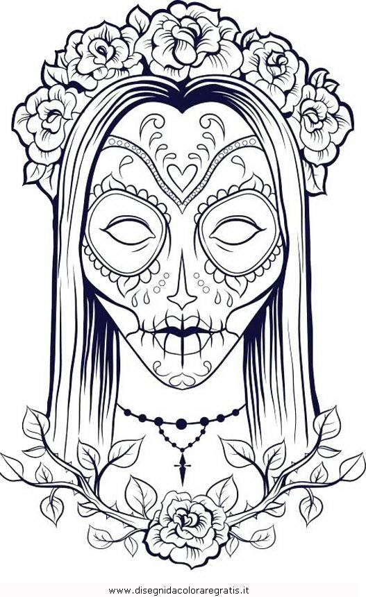 Disegno Horror03 Categoria Fantasia Da Colorare