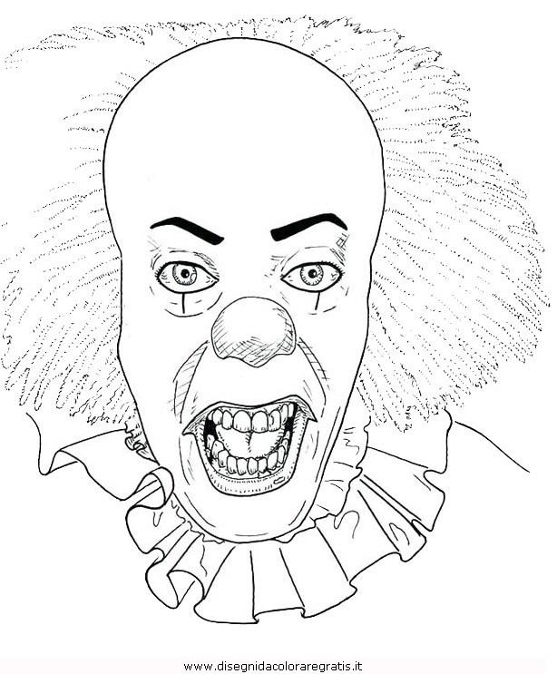 Disegno Horror 04 Categoria Fantasia Da Colorare