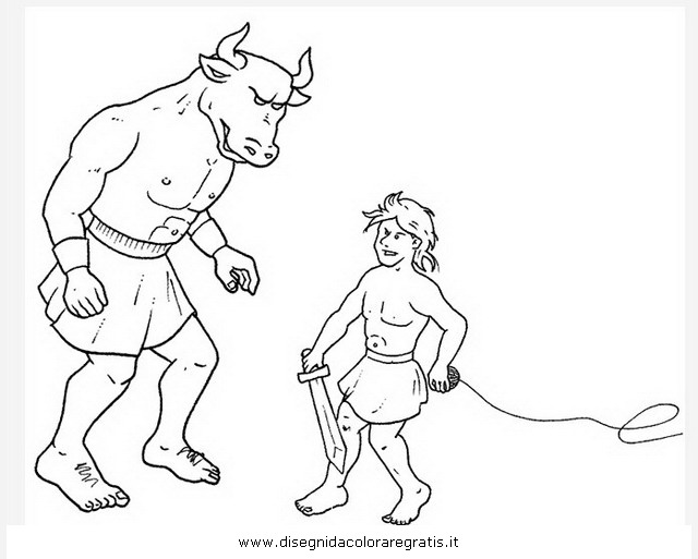 theseus coloring pages - photo#16