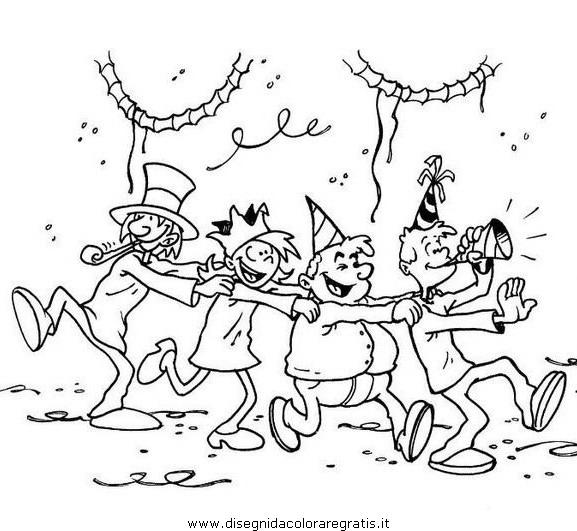Disegno Festa_06 Categoria Festivita Da Colorare