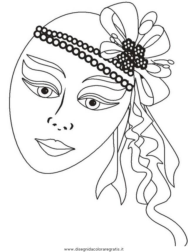 Disegno Carnevale 54 Categoria Festivita Da Colorare