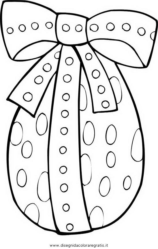 Disegni Da Colorare Gratis Uova Di Pasqua.Disegno Pasqua 001 Categoria Festivita Da Colorare