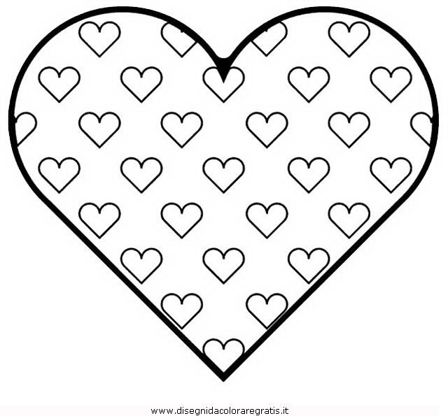 Disegno San Valentino 109 Categoria Festivita Da Colorare