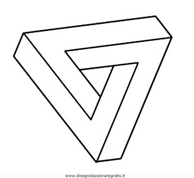 Disegno Illusioni Ottiche 02 Categoria Giochi Da Colorare