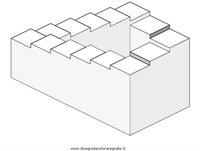 Disegno Illusioni Ottiche 05 Categoria Giochi Da Colorare