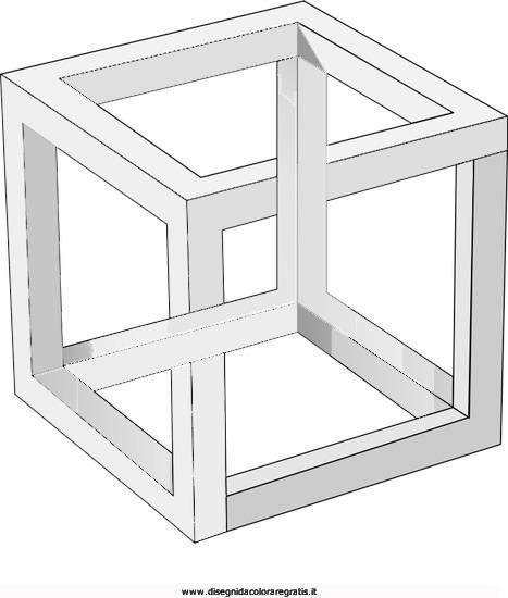 Disegno Illusioni Ottiche 06 Categoria Giochi Da Colorare
