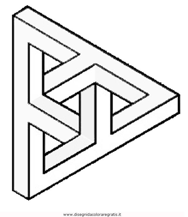 Disegno Illusioni Ottiche 07 Categoria Giochi Da Colorare