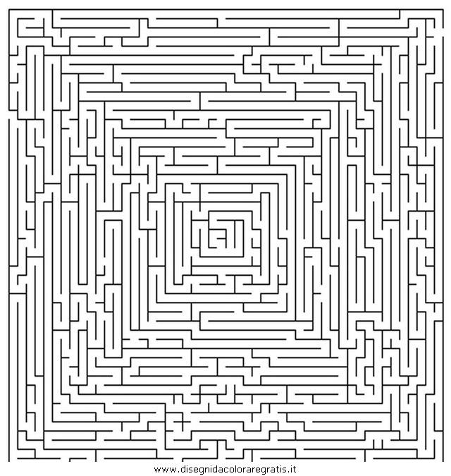 Labirinti Da Colorare Fredrotgans