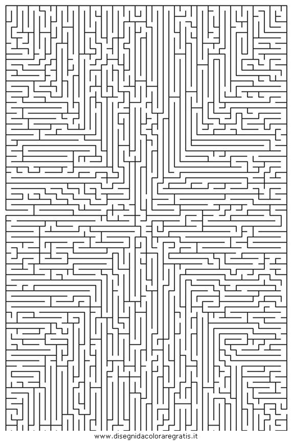 Disegno labirinto moltodifficile 08 categoria giochi da - Giocare giochi da colorare gratis ...