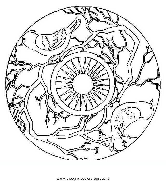 Disegno mandala animali 28 categoria giochi da colorare for Mandala da colorare con animali