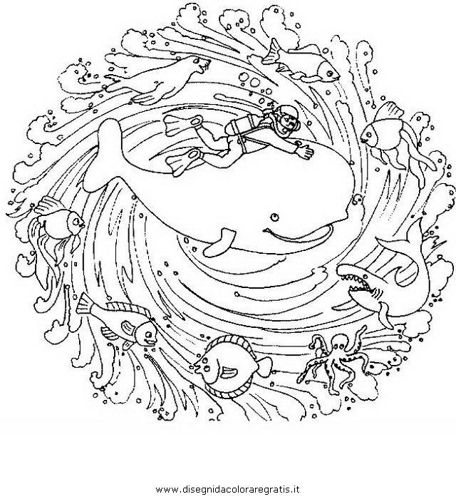Disegno mandala animali 37 categoria giochi da colorare for Mandala da colorare con animali