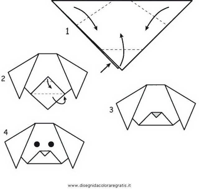 how to make a paper cat step by step