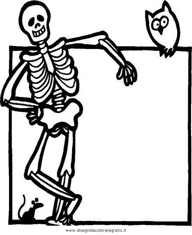 Disegno halloween mostri personaggio cartone animato
