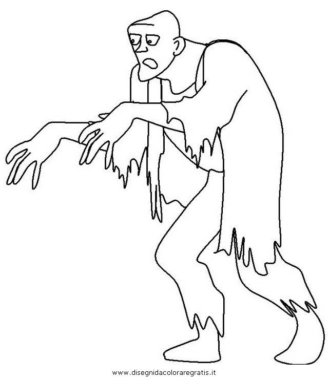 Disegno Halloween_mostri_55 Categoria Halloween Da Colorare
