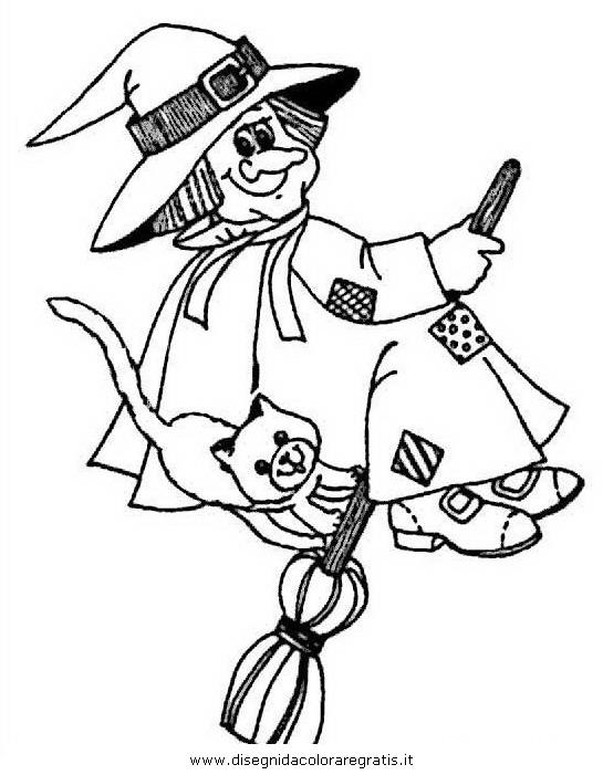 Disegno halloween streghe 33 categoria halloween da colorare 86854136b618