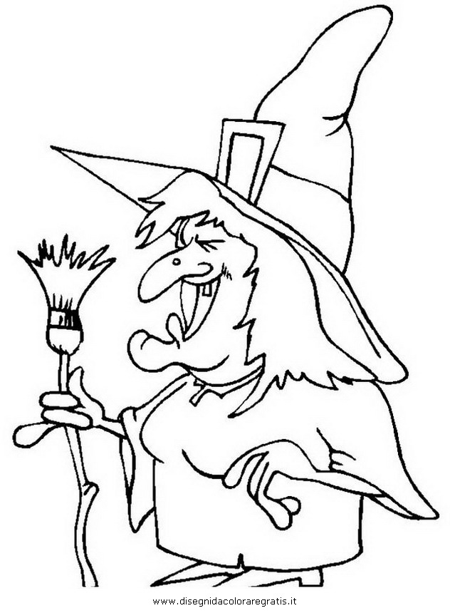 Disegno halloween streghe 34 categoria halloween da colorare edb4e5a60bb2