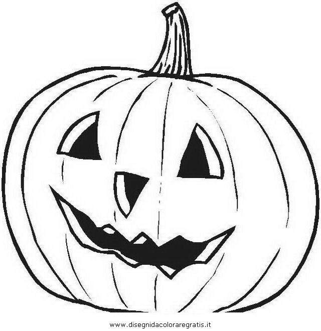 Disegno Halloweenzucche37 Categoria Halloween Da Colorare