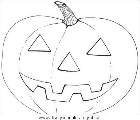 Disegno Halloweenzucche70 Categoria Halloween Da Colorare