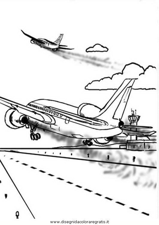 Disegno Aereo Da Colorare.Disegno Aereo 70 Personaggio Cartone Animato Da Colorare