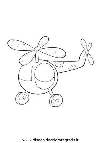 Disegno Elicottero Categoria Mezzi Trasporto Da Colorare