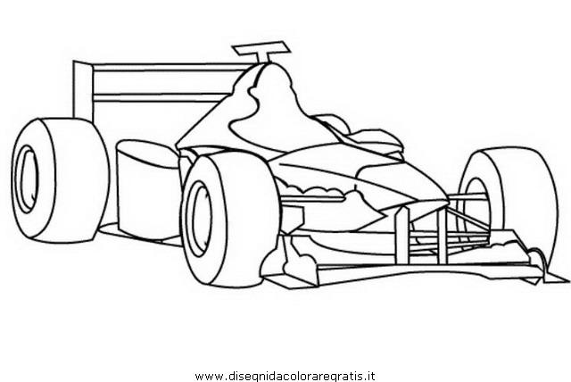 Disegno Formula Ferrari Categoria Mezzi Trasporto Da Colorare