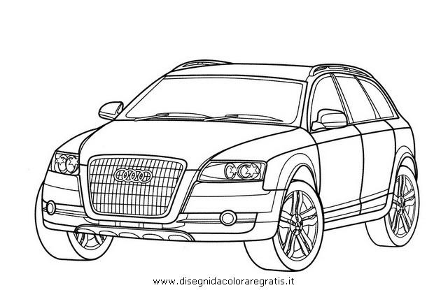 Audi Da Colorare Pastoorvanarskijkduin