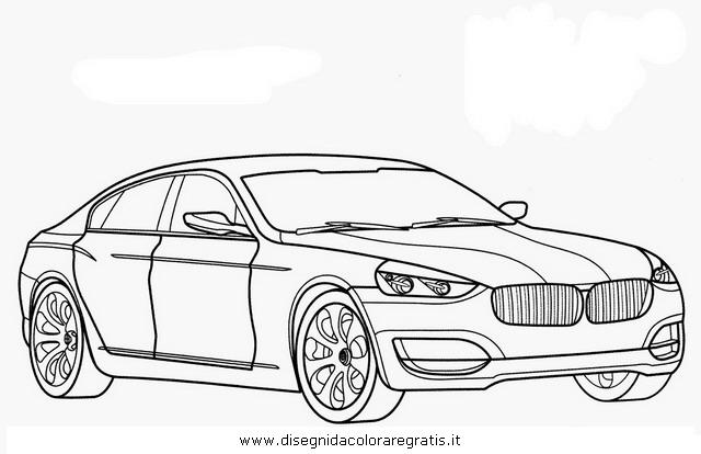disegno bmw cs categoria mezzi trasporto da colorare