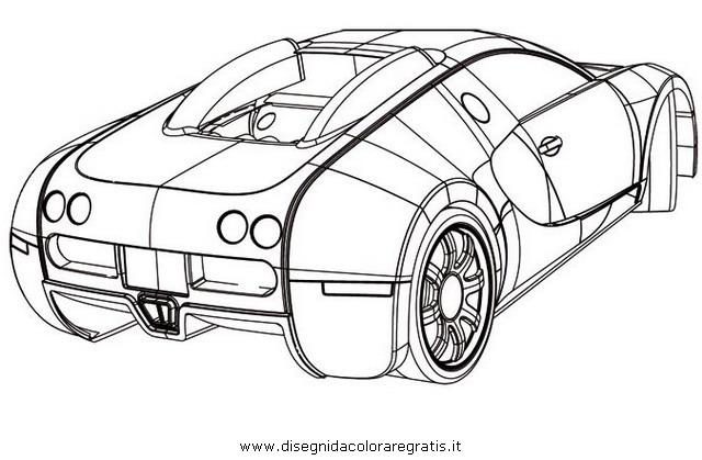 Disegno Bugatti 2 Personaggio Cartone Animato Da Colorare