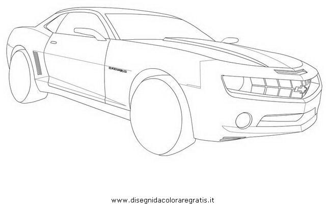 disegno chevrolet camaro 2 categoria mezzi trasporto da