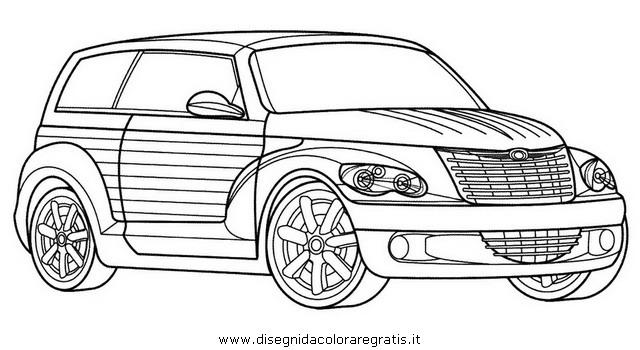 Disegno chrysler cruiser categoria mezzi trasporto da colorare