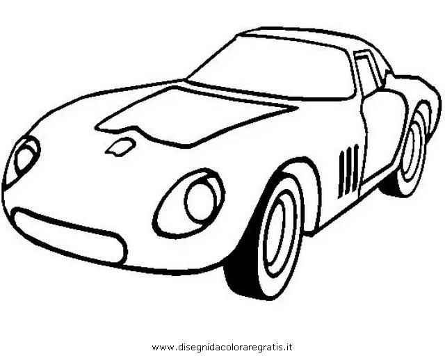 Disegno Ferrari 250 Gto Categoria Mezzi Trasporto Da Colorare