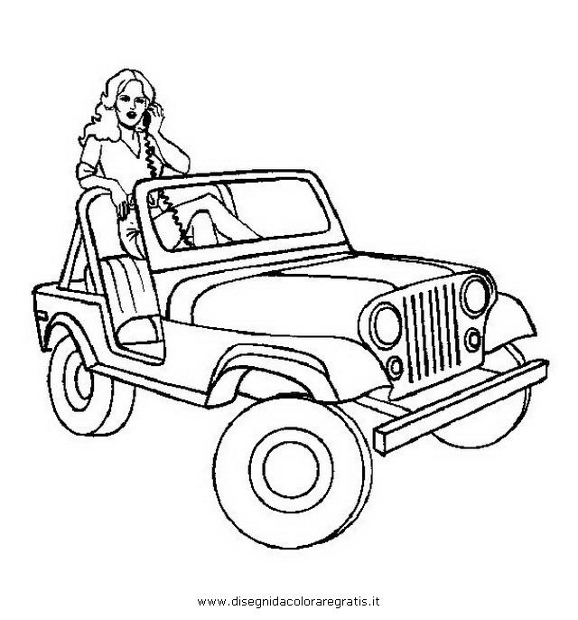 Disegno jeep 1 categoria mezzi trasporto da colorare for Jeep da colorare