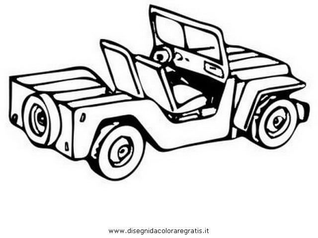 Disegno jeep 5 categoria mezzi trasporto da colorare for Jeep da colorare