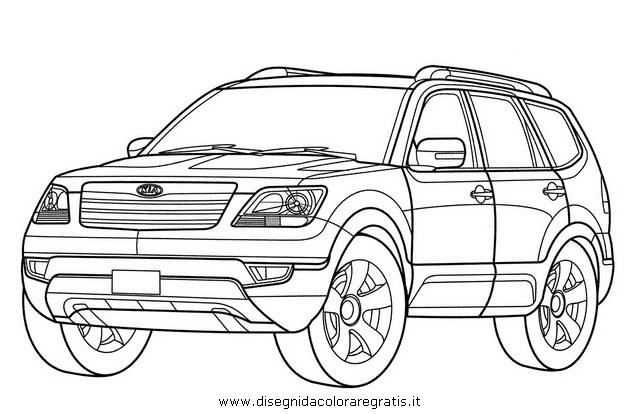 disegno kia borrego categoria mezzi trasporto da colorare