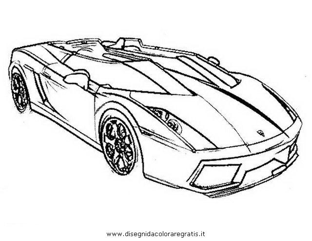 Disegno Lamborghini 05 Categoria Mezzi Trasporto Da Colorare