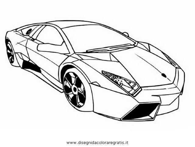Disegno Lamborghini10 Categoria Mezzitrasporto Da Colorare