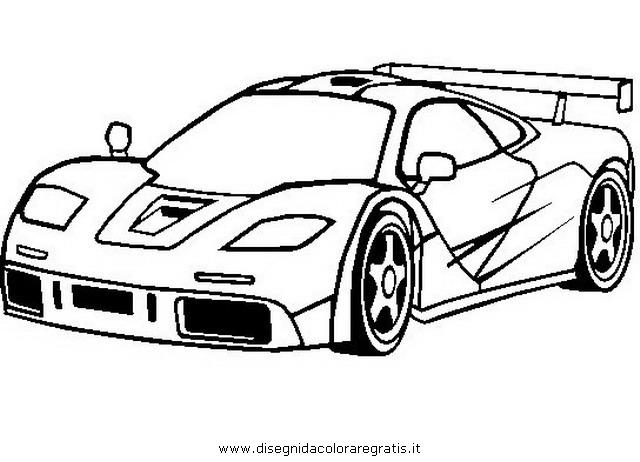 Disegno Mclaren F1 Categoria Mezzitrasporto Da Colorare