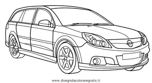 Disegno 29007 Opel_vectra on Kia Borrego