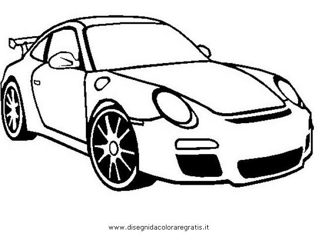 disegno porsche911 categoria mezzitrasporto da colorare
