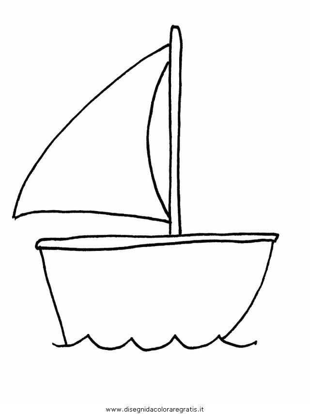 Disegno Barca00 Categoria Mezzitrasporto Da Colorare