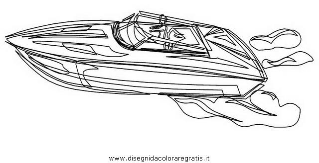 Disegno motoscafo motorboat3 categoria mezzi trasporto da for Disegni delle macchine