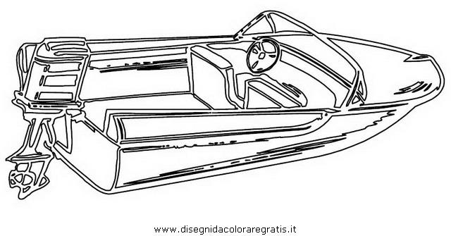 Disegno Motoscafomotorboat5 Categoria Mezzitrasporto Da Colorare