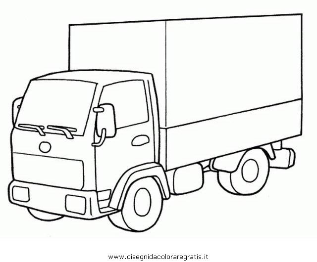 Disegno Camion30 Categoria Mezzitrasporto Da Colorare