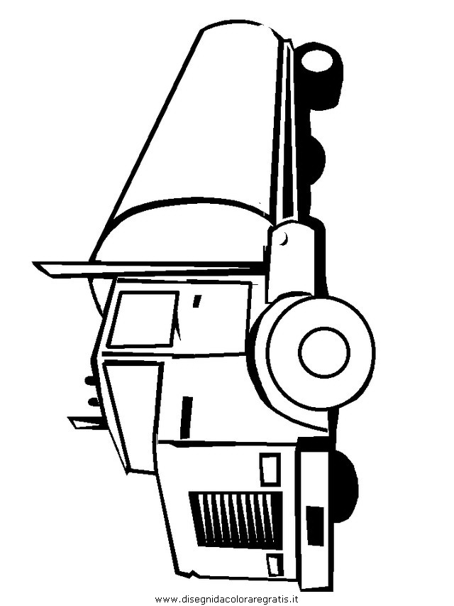Disegno Camion Pulmann 30 Categoria Mezzi Trasporto Da Colorare
