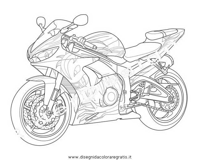 Download Disegno Moto Valentino Rossi Da Colorare Le Migliori