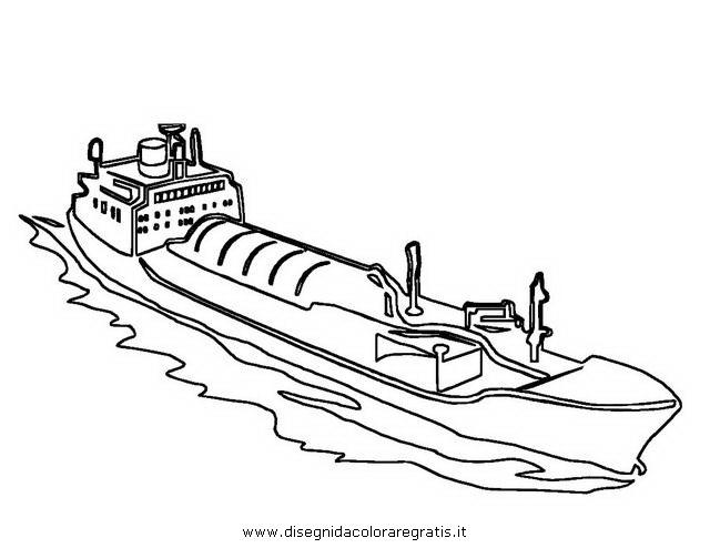 Disegno Nave Barca 10 Categoria Mezzi Trasporto Da Colorare