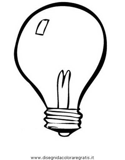 Disegno Lampadinalampadine Misti Da Colorare