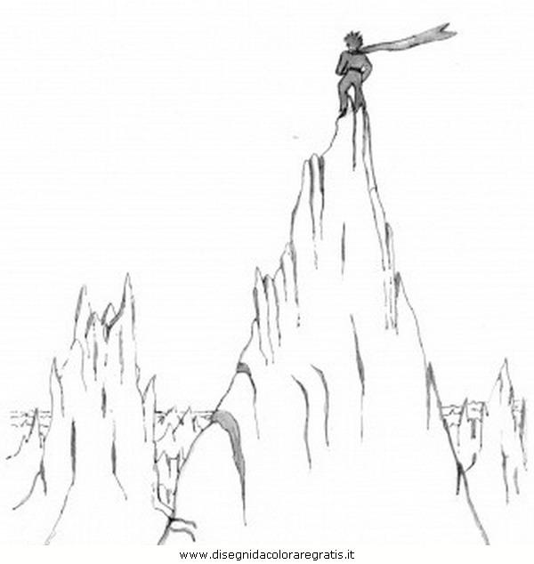 Disegno Montagna18 Misti Da Colorare