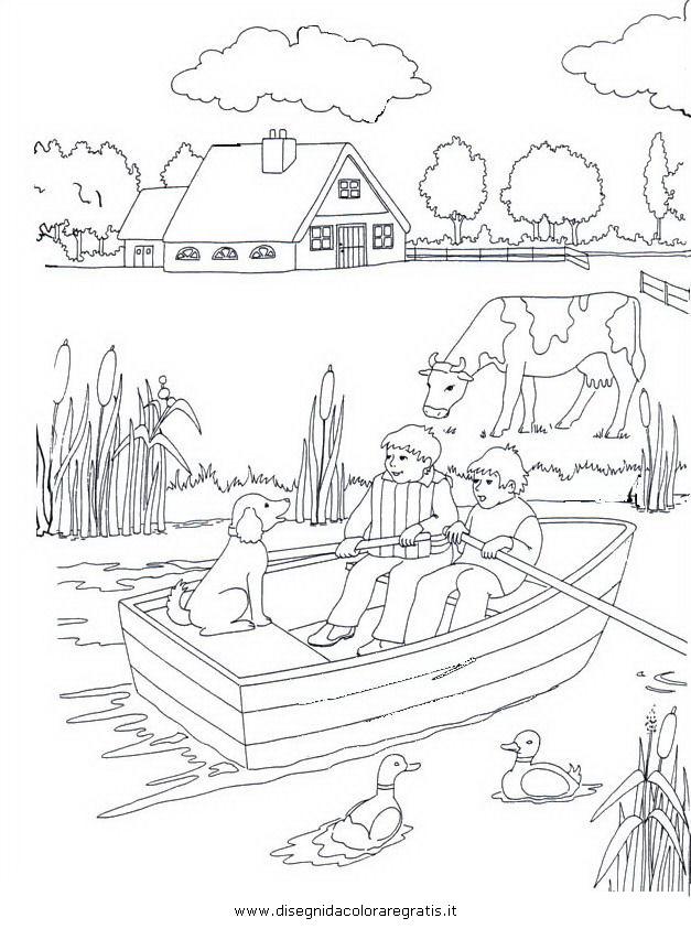 Disegno paesaggio 69 misti da colorare for Disegno paesaggio marino per bambini